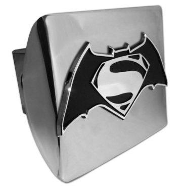 Batman v Superman Chrome Hitch Cover