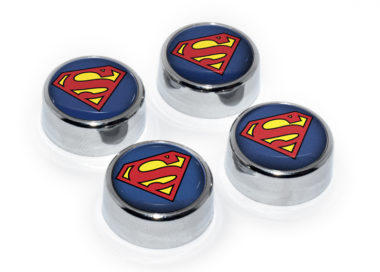 Superman License Plate Frame Screws
