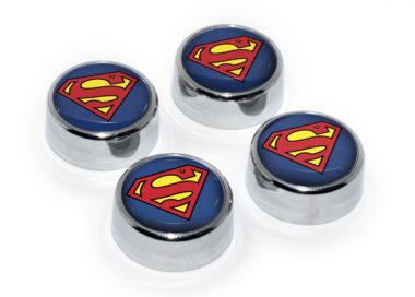 Superman License Plate Frame Screws