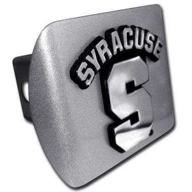 University of Syracuse Brushed Hitch Cover image