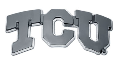 TCU Chrome Emblem