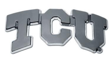 TCU Chrome Emblem