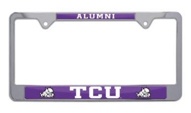 TCU Alumni License Plate Frame image