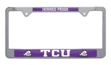 TCU Horned Frog License Plate Frame