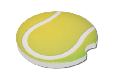 Tennis ball Car Coaster - 2 Pack image