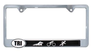Triathlon License Plate Frame
