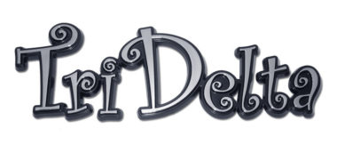 Tri Delta Chrome Emblem image
