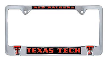 Texas Tech Red Raiders 3D License Plate Frame