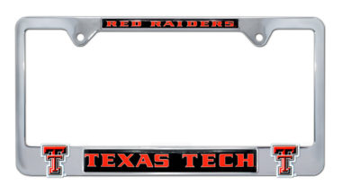 Texas Tech Red Raiders 3D License Plate Frame image