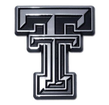 Texas Tech Chrome Emblem