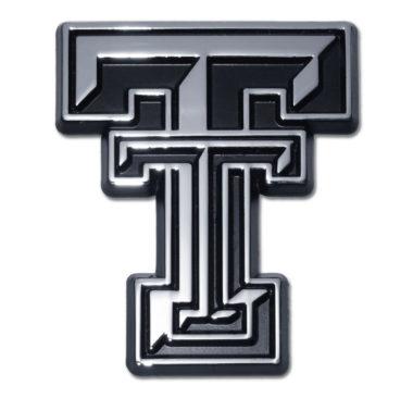 Texas Tech Chrome Emblem