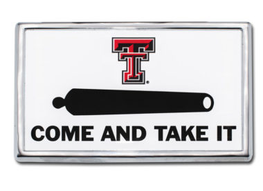 Texas Tech Cannon Chrome Emblem