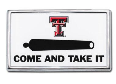 Texas Tech Cannon Chrome Emblem