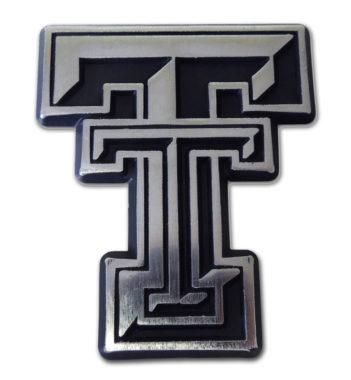 Texas Tech Matte Chrome Emblem