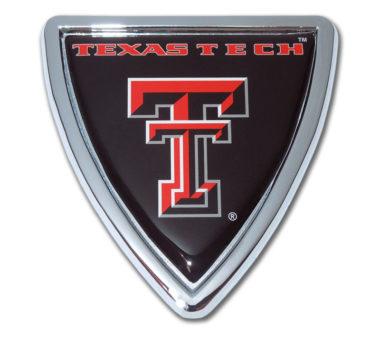 Texas Tech Shield Chrome Emblem image