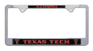Texas Tech Alumni License Plate Frame