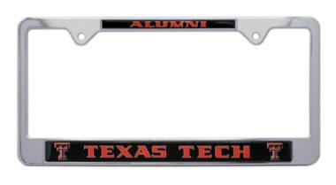 Texas Tech Alumni License Plate Frame