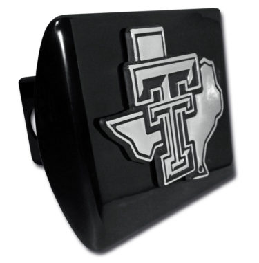 Texas Tech Texas Black Hitch Cover