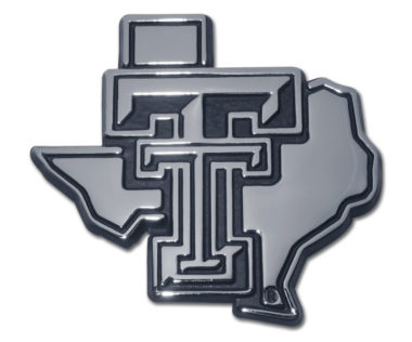 Texas Tech Texas Chrome Emblem