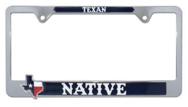 Texas Native License Plate Frame image