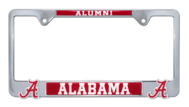 Alabama Alumni 3D License Plate Frame
