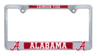 Alabama Crimson Tide 3D License Plate Frame
