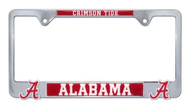 Alabama Crimson Tide 3D License Plate Frame