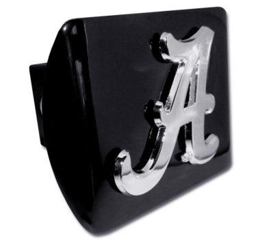 Alabama A on Black Hitch Cover