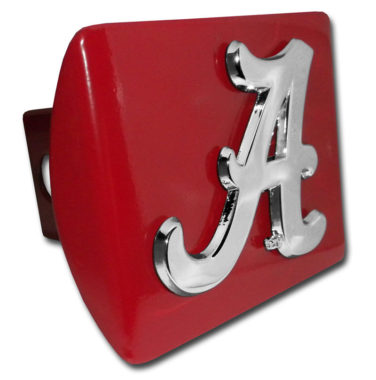 Alabama A on Red Hitch Cover