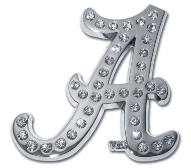 Alabama A Crystal Chrome Emblem image