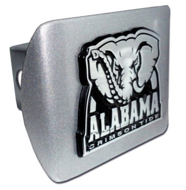 Alabama Crimson Tide on Brushed Hitch Cover