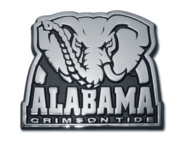 Alabama Crimson Tide Chrome Emblem