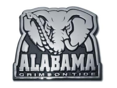 Alabama Crimson Tide Chrome Emblem image