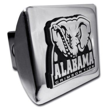 Alabama Crimson Tide on Chrome Hitch Cover
