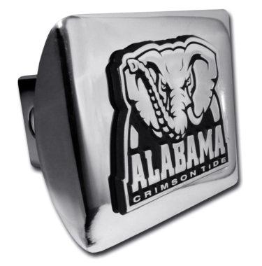 Alabama Crimson Tide on Chrome Hitch Cover