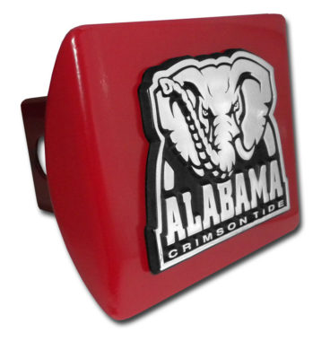 Alabama Crimson Tide on Red Hitch Cover