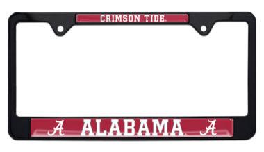 University of Alabama Crimson Tide Black License Plate Frame