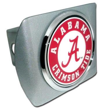 Alabama Crimson Tide Seal on Brushed Hitch Cover