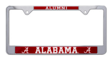 Alabama Alumni License Plate Frame