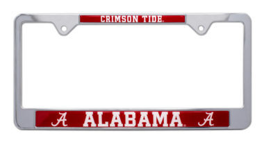 Alabama Crimson Tide License Plate Frame