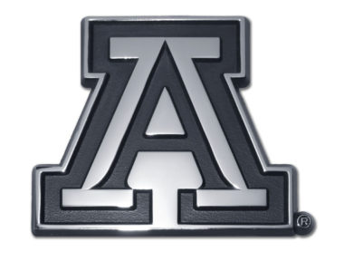 Arizona A Chrome Emblem