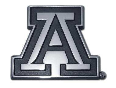 Arizona A Chrome Emblem