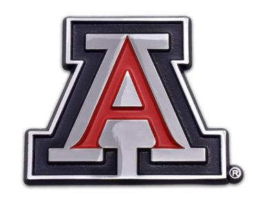 Arizona A Red Chrome Emblem