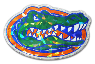 University of Florida Color 3D Reflective Decal