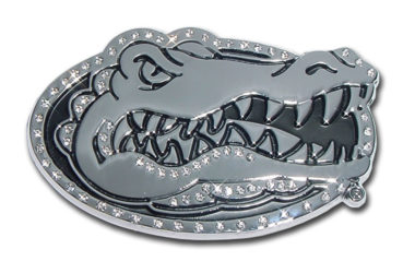 University of Florida Crystal Chrome Emblem
