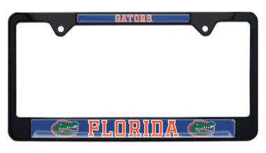 University of Florida Gators Black License Plate Frame