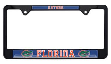 University of Florida Gators Black License Plate Frame