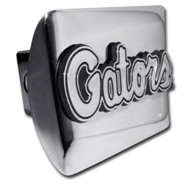 University of Florida Gators Emblem on Chrome Hitch Cover image