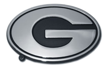University of Georgia Chrome Emblem