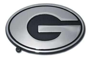 Georgia Chrome Emblem